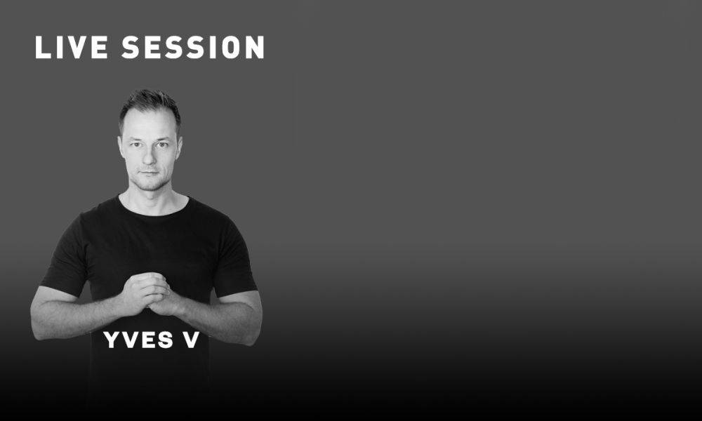 Yves V plays live set at Spinnin' office